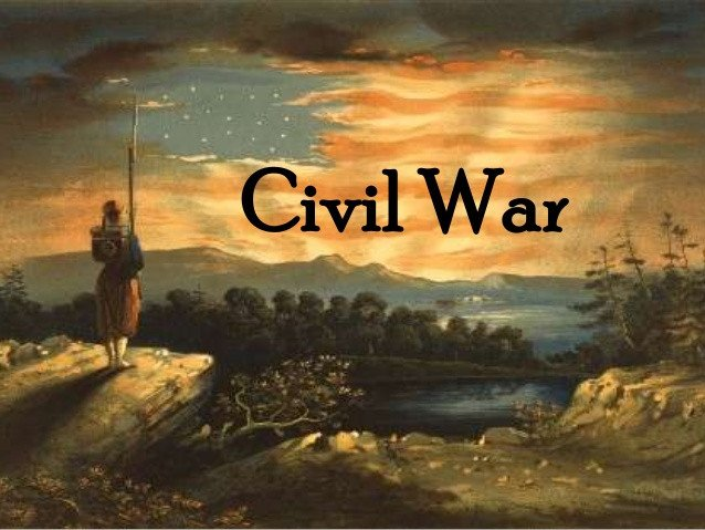 Civil War Powerpoint Template Civil War A Summary for Grades 5 8