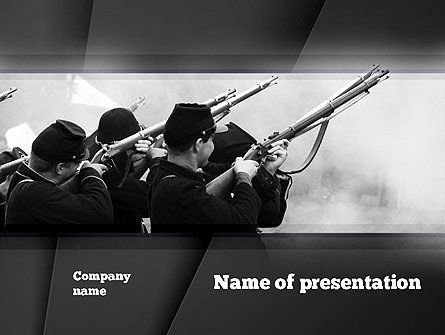 Civil War Powerpoint Template Civil War Of America Presentation Template for Powerpoint