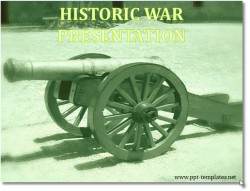 Civil War Powerpoint Template Civil War Powerpoint Templates