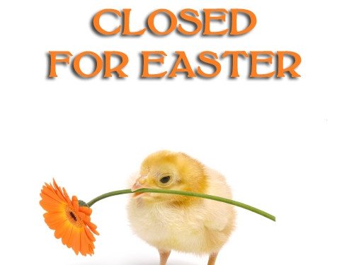 Closed Easter Sign Template Closed for Easter Sunday April 1 2018