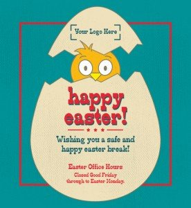 Closed Easter Sign Template Do Your Customers Know Your Opening Hours Over Easter