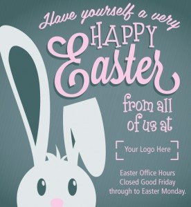 Closed Good Friday Sign Do Your Customers Know Your Opening Hours Over Easter