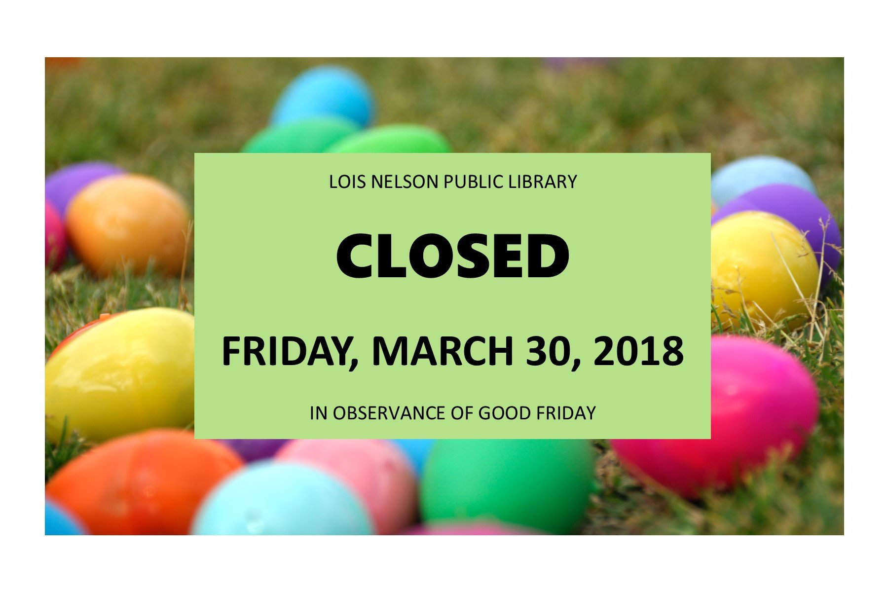 Closed Good Friday Sign Library Closed Good Friday