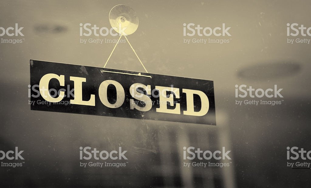 Closing Early Sign Template List Of Synonyms and Antonyms Of the Word Closed