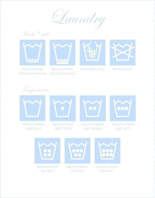 Clothing Care Label Template Template Clothing Care Label Template