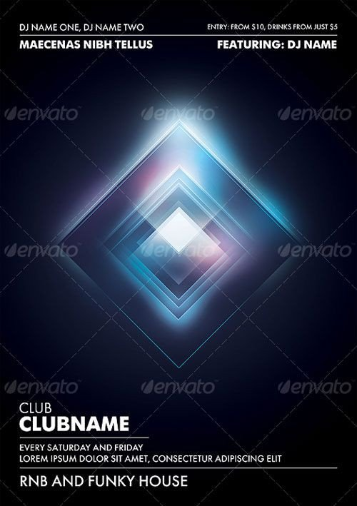 Club Flyer Background Templates 17 Best Images About Nightclub Posters On Pinterest