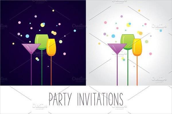Cocktail Party Invitation Template 12 Cocktail Party Invitations Word Psd Ai Eps