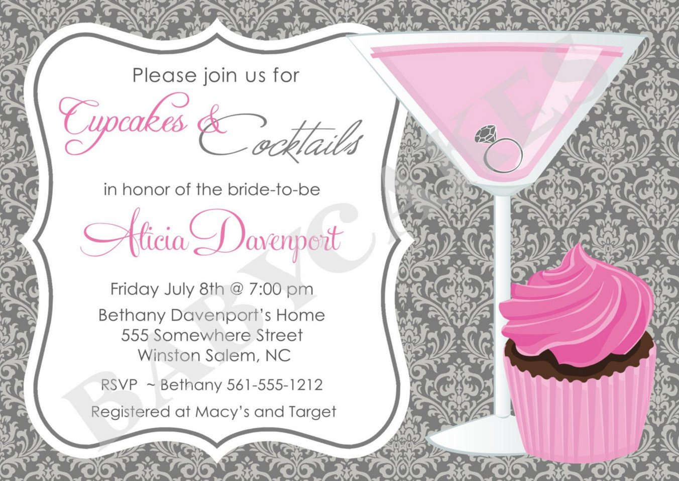 Cocktail Party Invitation Template Holiday Cocktail Party Invitation Template Wcm Corporate