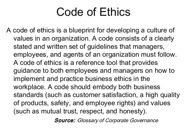 Code Of Ethics Template 13 Best Codes Of Ethics Conduct Images On Pinterest