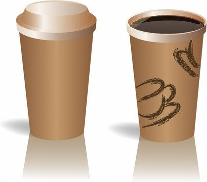 Coffee Sleeve Template Illustrator Coffee Cup Vector Free Vector 2 201 Free Vector