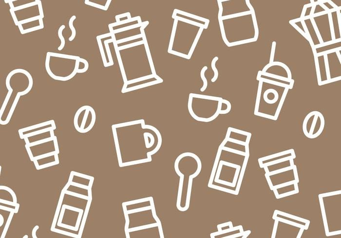 Coffee Sleeve Template Illustrator Coffee Pattern Vector Download Free Vector Art Stock