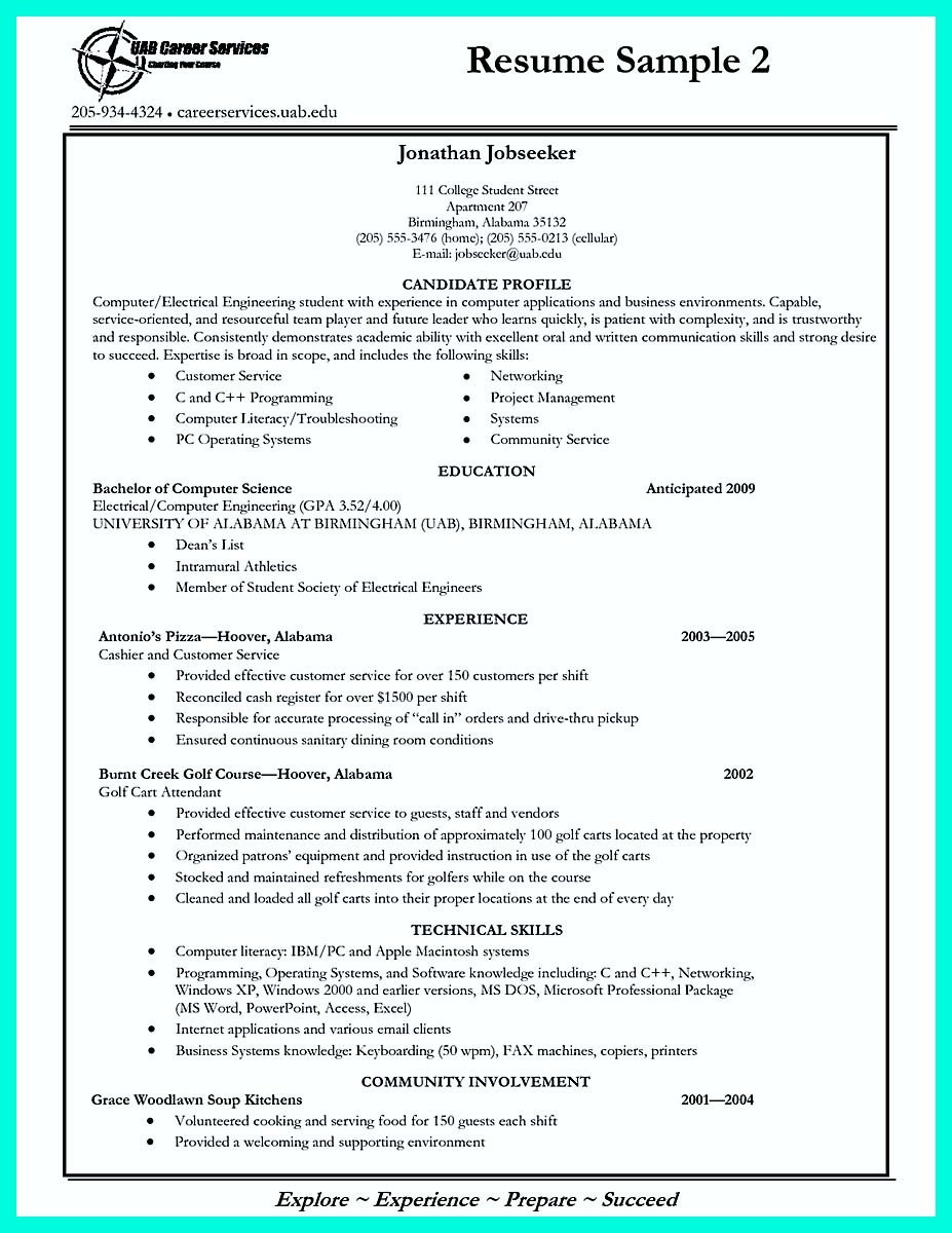College Admissions Resume Templates Write Properly Your Ac Plishments In College Application
