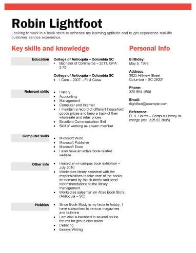College Freshman Resume Template 13 Student Resume Examples [high School and College]