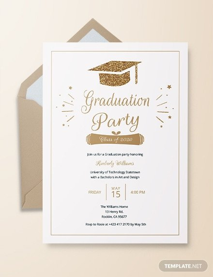 College Graduation Invitation Templates 22 Graduation Invitation Templates Word Psd Vector