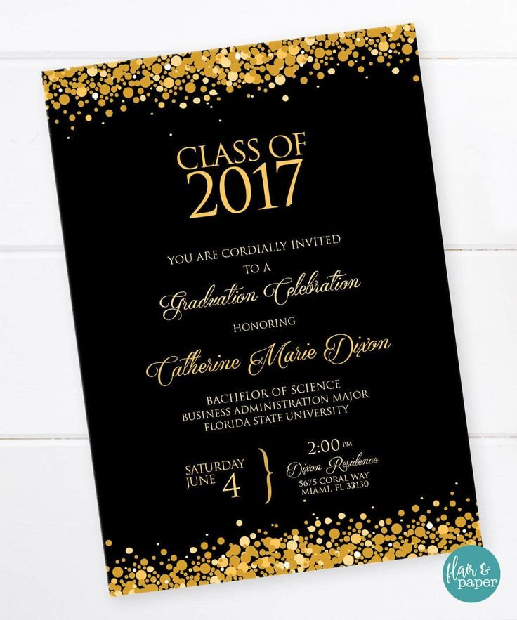 College Graduation Invitation Templates 25 Best Ideas About High School Graduation Invitations On