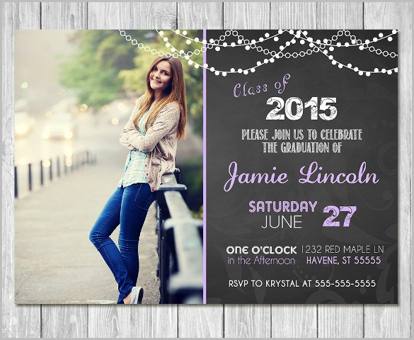 College Graduation Invitation Templates 25 Graduation Invitation Templates Psd Vector Eps Ai
