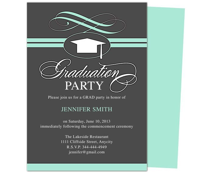 College Graduation Invitation Templates 46 Best Printable Diy Graduation Announcements Templates
