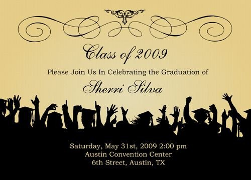 College Graduation Invitation Templates Free Graduation Templates S