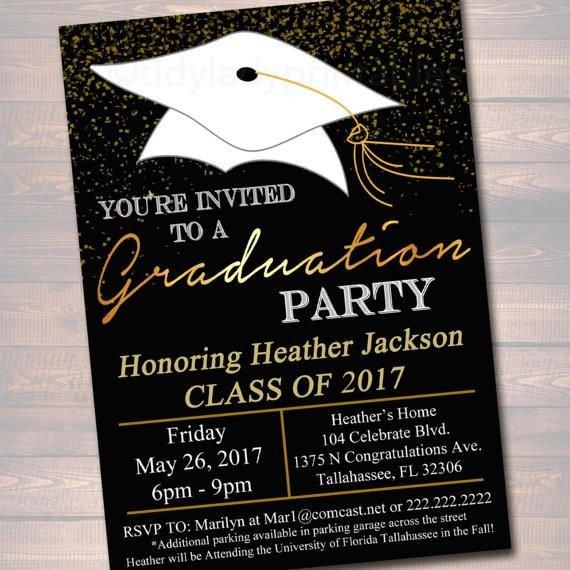 College Graduation Invitations Templates De 25 Bästa Idéerna Om Graduation Invitations – Bara På