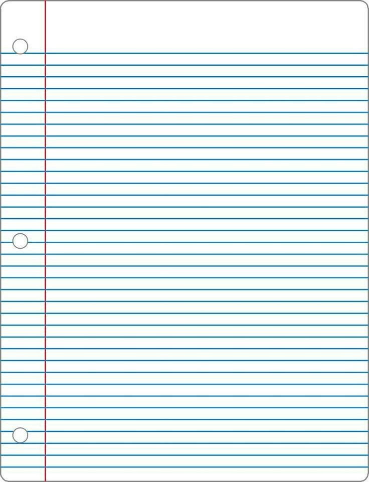 College Ruled Notebook Paper 13 Best College Ruled Riting Paper Templates Images On