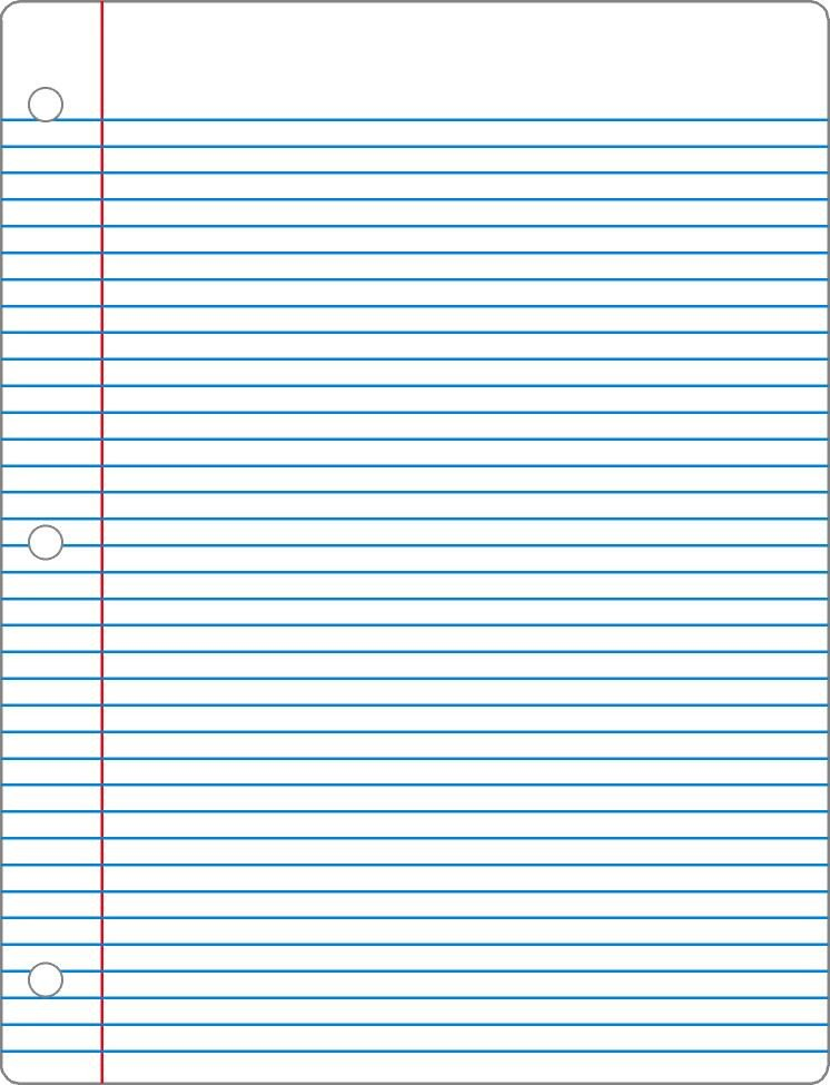 College Ruled Notebook Paper Fancy [no]pants College Ruled