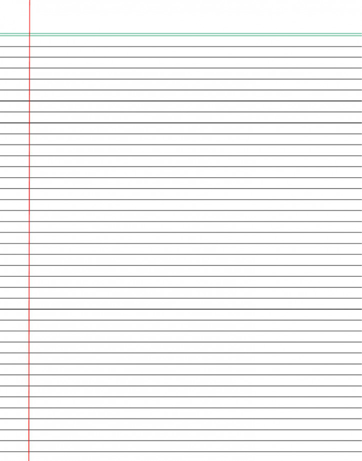 College Ruled Notebook Paper Free Printable Notebook Paper College & Wide Ruled