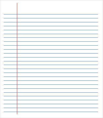 College Ruled Notebook Paper Printable College Ruled Paper Five Things You Should Know