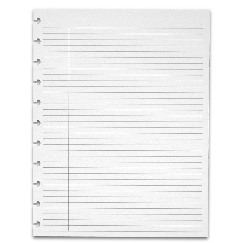 College Ruled Notebook Paper Special Request™ College Ruled Circa Letter without