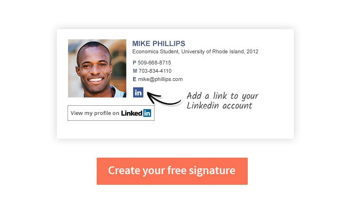 College Student Email Signature Email Signature for College Students 5 Tips for Students