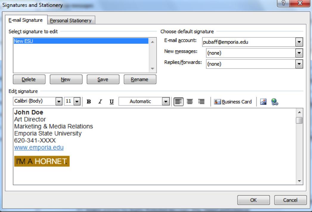 College Student Email Signature Email Signature Generator Marketing & Media Relations