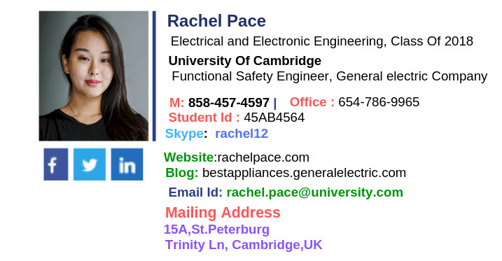 College Student Email Signature How to Design the Best College Student Email Signature