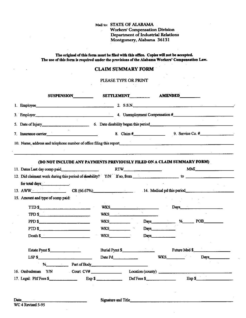 Colorado Workers Comp Waiver form Workers P Exemption form Colorado