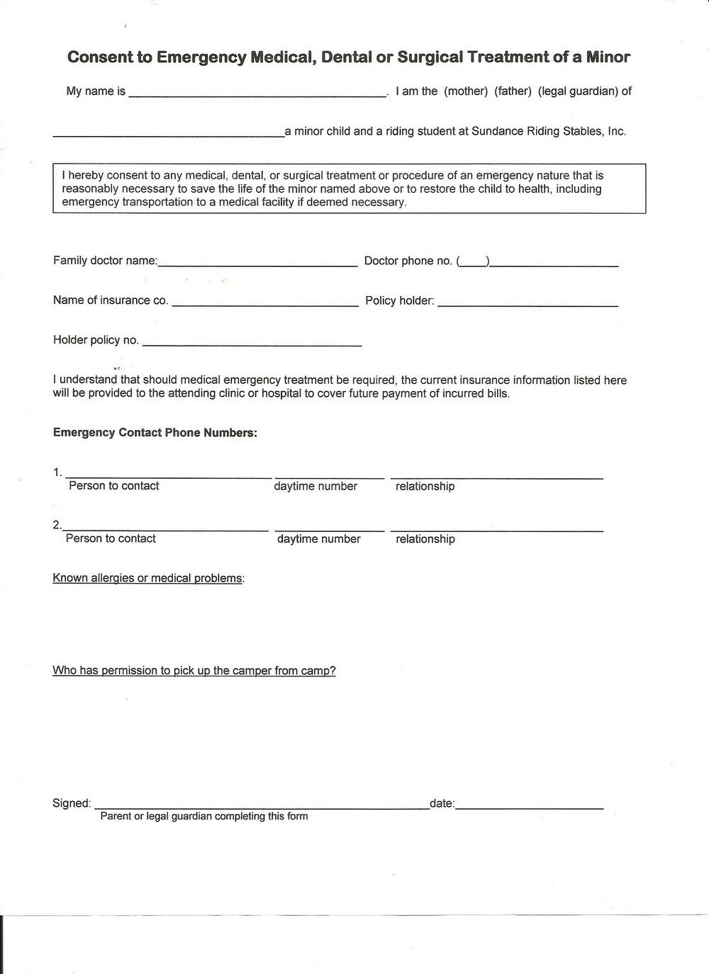 Colorado Workers Comp Waiver form Workers P Waiver form forms 5912
