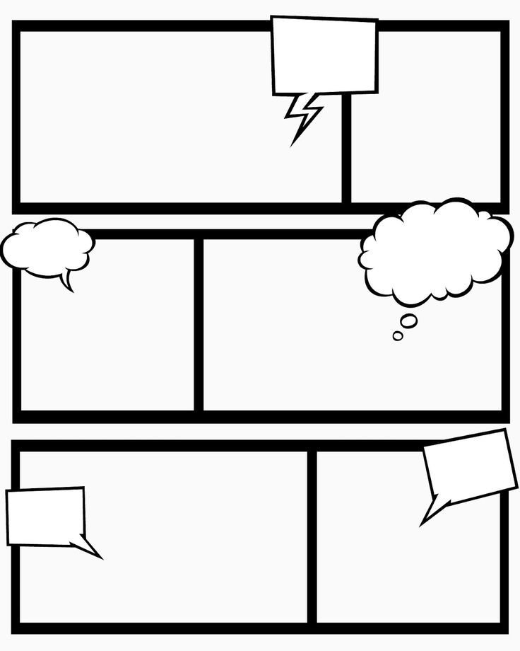 Comic Book Page Template Ic Strip Blank Template Cute Slp Ideas