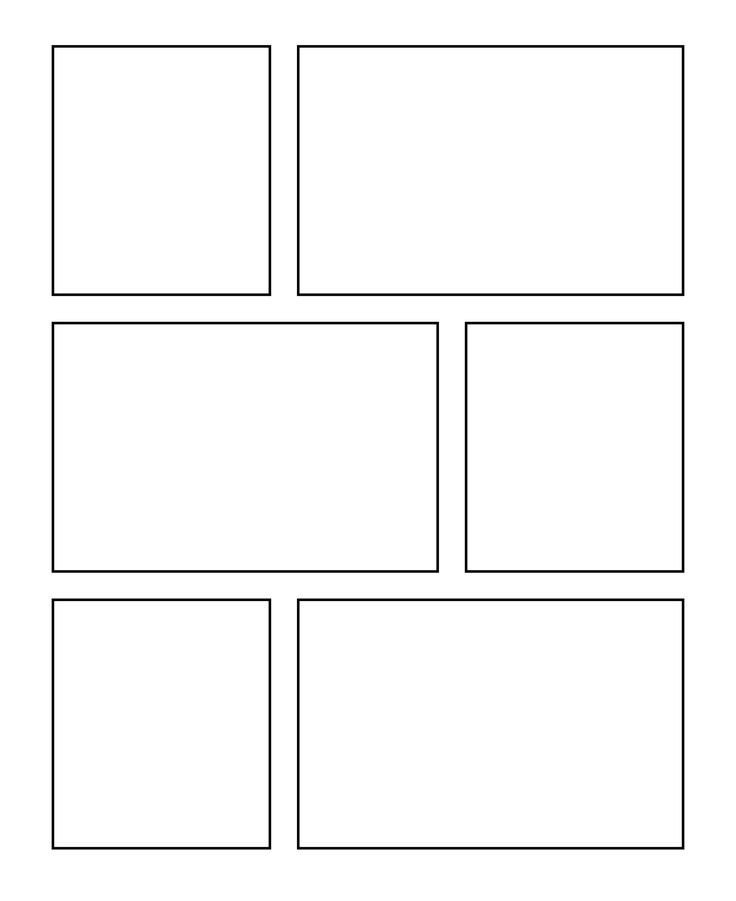 Comic Book Page Template Ic Template Ic Template
