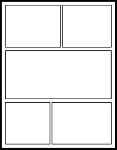 Comic Book Page Template This is A Blank Graphic Novel Ic Book Template that