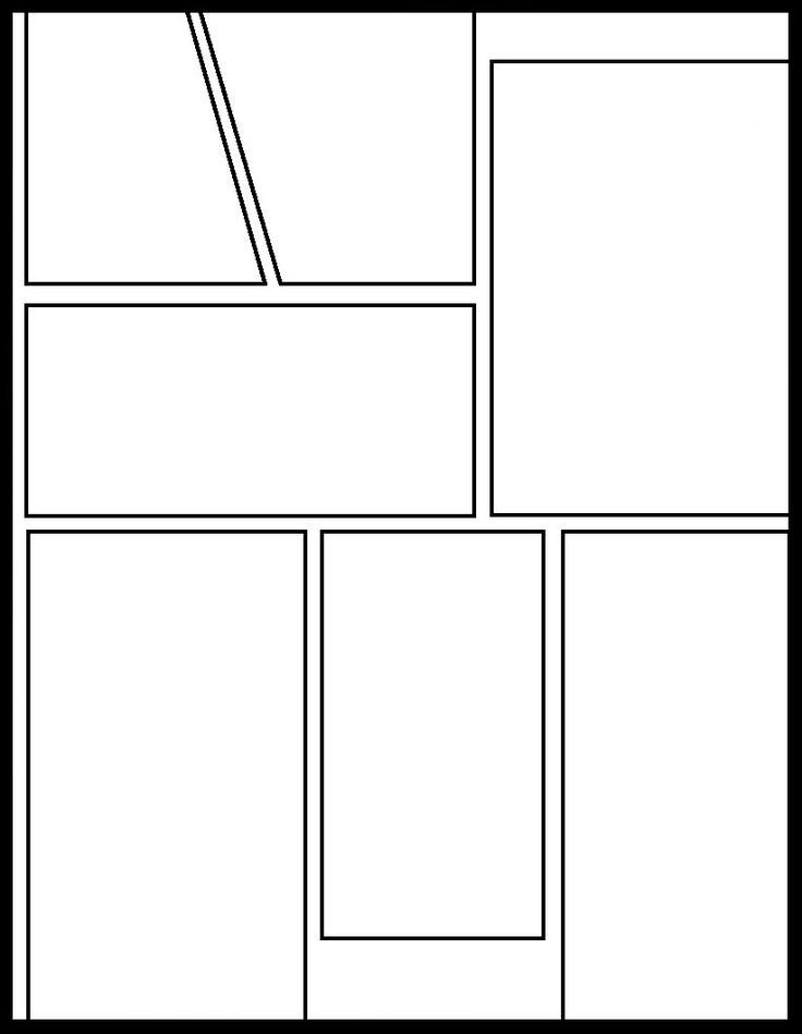 Comic Book Panel Template 8 Best Manga Panels Images On Pinterest