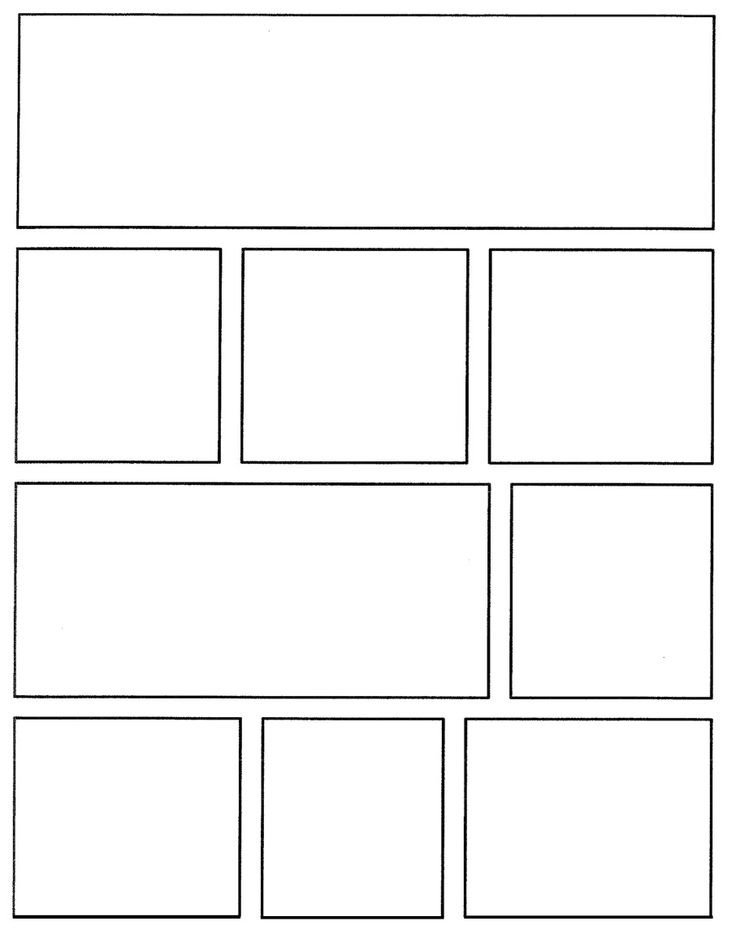 Comic Book Panel Template Best 25 Ic Strip Template Ideas On Pinterest