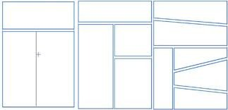 Comic Book Panel Template Wel E to My Learning Curve Creating Panels for Manga