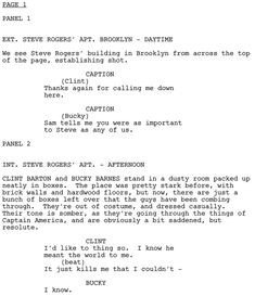 Comic Book Script Template How to Write A Graphic Novel Part 1