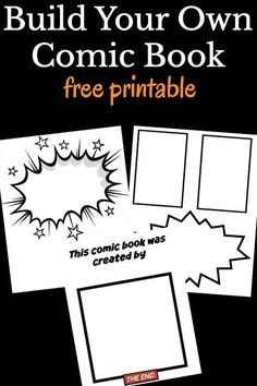 Comic Book Template Word Printable Ic Book Border Use the Border In Microsoft