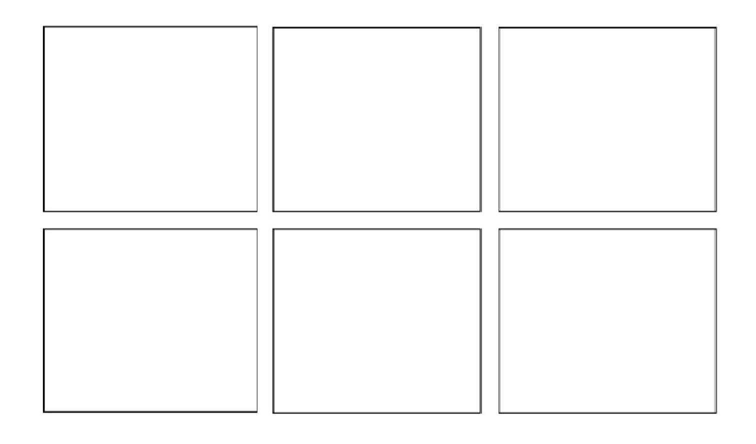Comic Strip Template Word 2015 2016 Resources