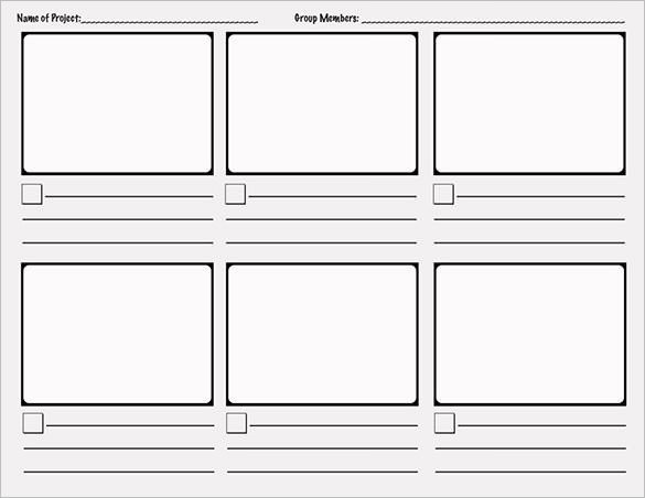 Comic Strip Template Word 7 Ic Storyboard Templates Doc Excel Pdf Ppt