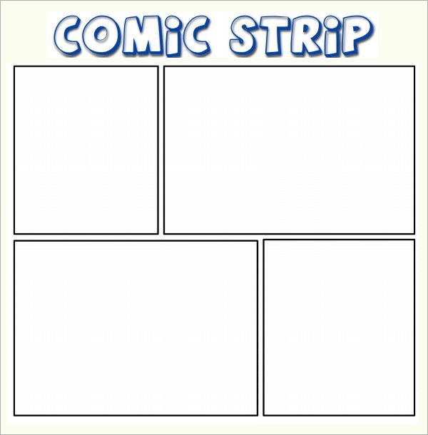 Comic Strip Template Word Sample Ic Template 10 Documents In Pdf Psd