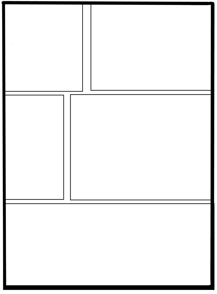 Comic Strip Template Word Strip Template