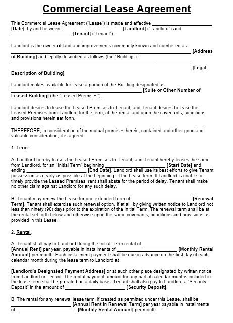 Commercial Sublease Agreement Template 13 Free Sample Fice Sublease Agreement Templates