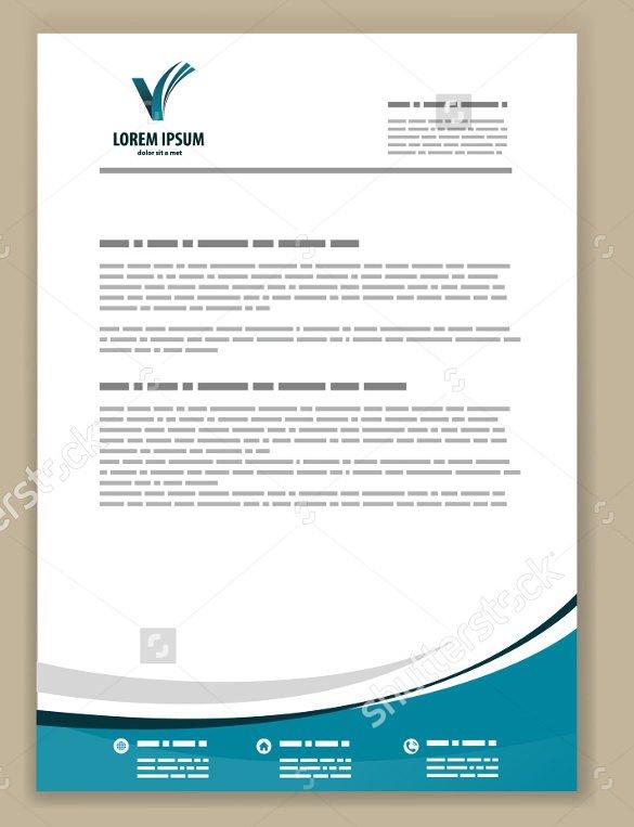 Company Letterhead Template Word 55 Psd Letterhead Templates