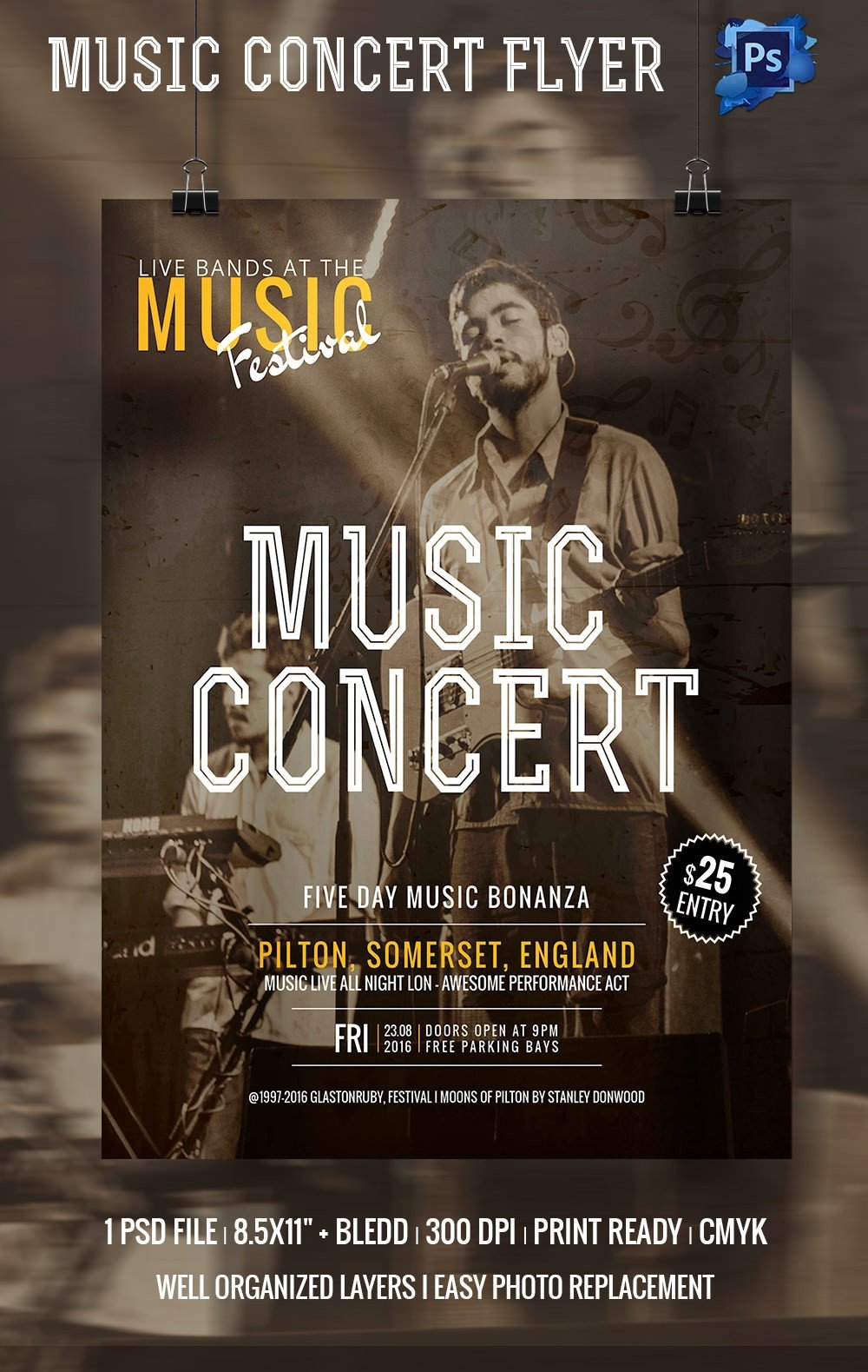 Concert Flyers Template Free 135 Psd Flyer Templates – Free Psd Eps Ai Indesign