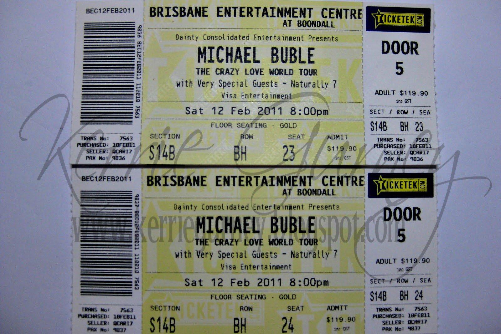 Concert Ticket Template Word Concert Ticket Concert Ticket Word Template