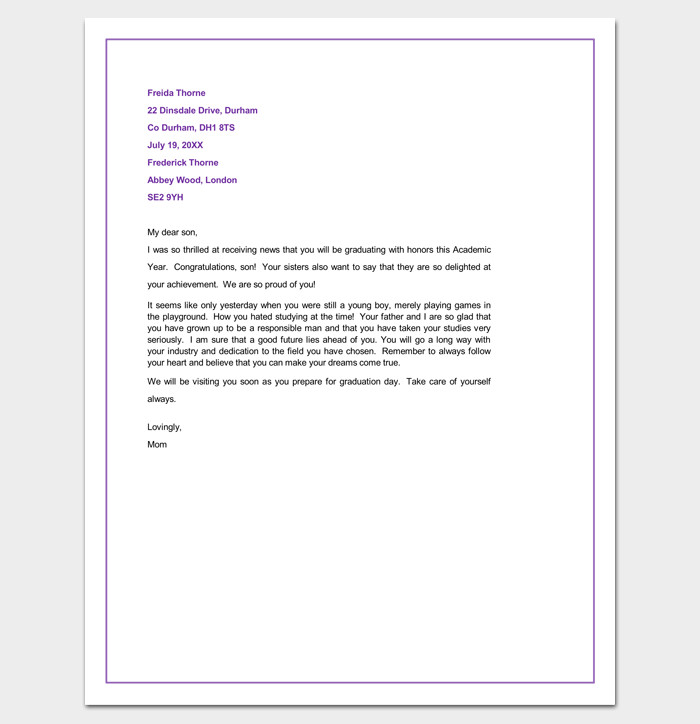 Congratulation Letter On Achievement Congratulation Letter Template 18 Samples for Word Pdf